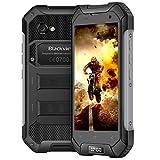 Blackview BV6000S Outdoor Smartphone, IP68 Impermeabile Rugged Smartphone, Batteria 4500mAh, 4,7 Pollici HD IPS, 8.0MP e 2.0MP Fotocamera, Dual SIM, 4G, 2GB RAM e 16GB ROM, Compass/GPS/NFC/OTG-Nero