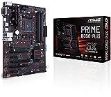 ASUS PRIME B350-PLUS Scheda Madre, AMD AM4 ATX, DDR4, 32 GB/s M.2, HDMI, USB 3.1